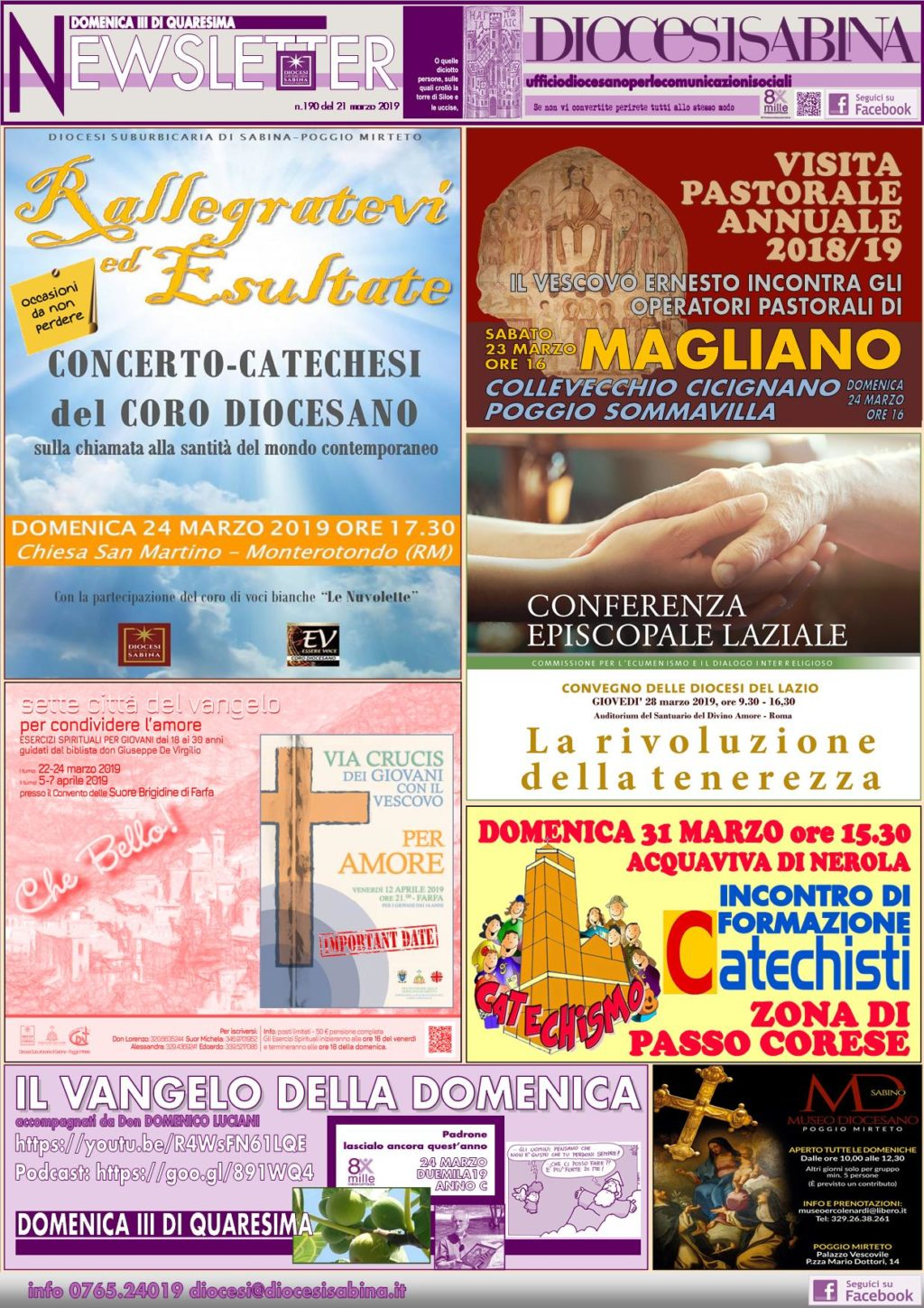 Newsletter DIOCESISABINA